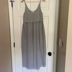Grana Silk Maxi Dress